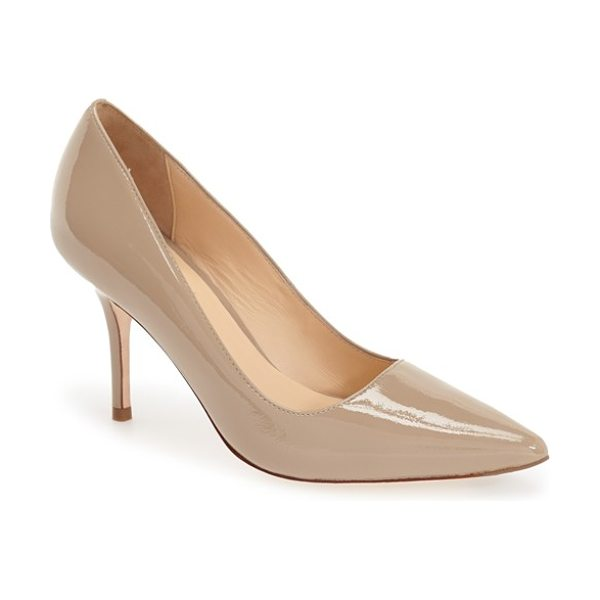 Cole Haan bradshaw pointy toe pump in maple sugar patent - A must for any woman's wardrobe, the pointy-toe pump is...