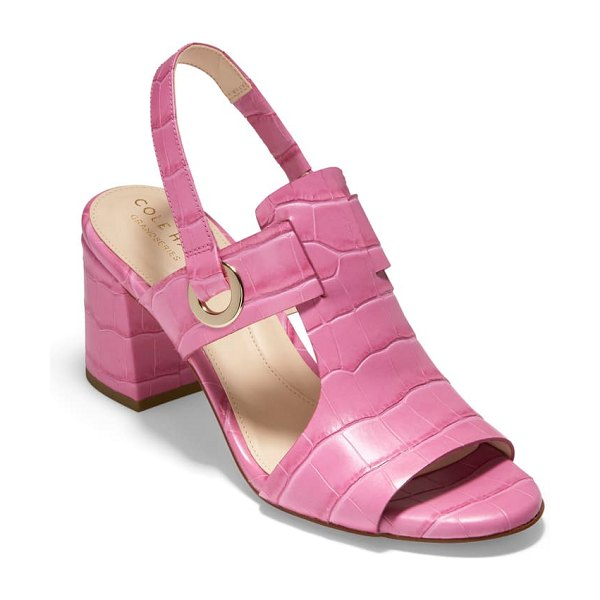 Cole Haan grand ambition adele slingback sandal in pink