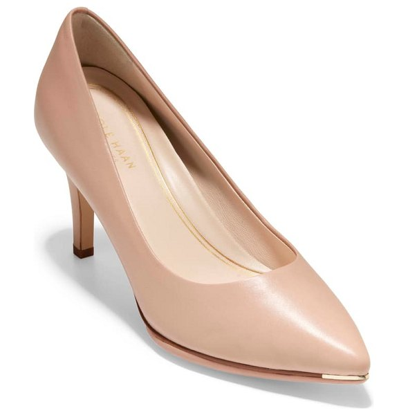 Cole Haan grand ambition pump in pink