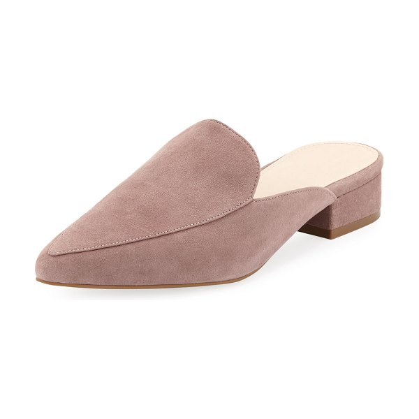 d81923cd11a1 Cole Haan Piper Grand Suede Mules | Nudevotion