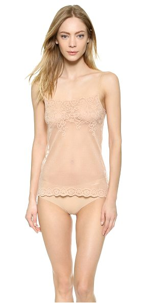 Commando All over lace camisole in true nude