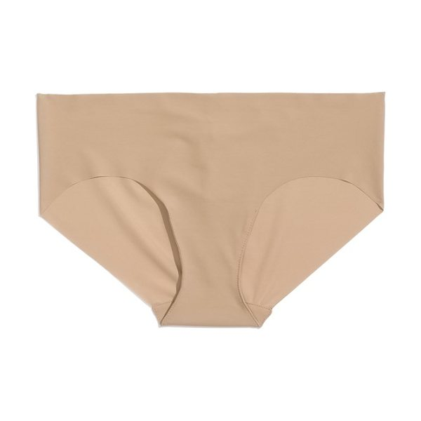 Commando bikini in beige - Ultrasmooth microfiber bikini offers a no-slip fit and...
