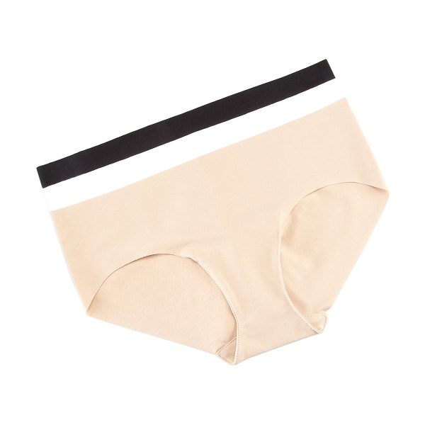 Commando Cotton bikini briefs in nude - Choose black, white, or nude. Seamless coverage. No...