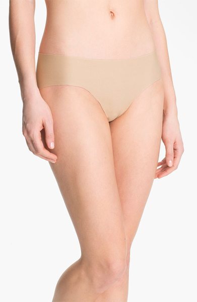 Commando cotton bikini in nude - Ultrasmooth style is cut from soft, breathable stretch...