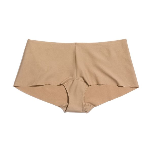 Commando cotton boyshorts in nude - Ultrasmooth boyshorts cut from soft, breathable stretch...