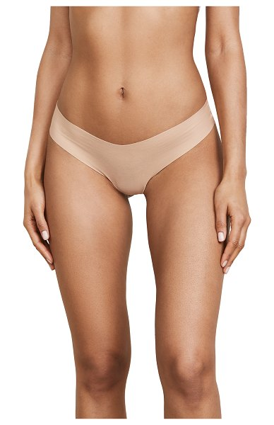 Commando cotton thong in nude