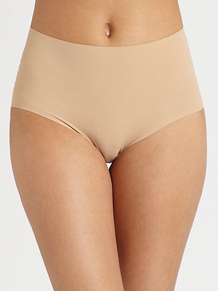 Commando high-rise panty in truenude - Uniquely designed with an invisible edge for a smooth,...