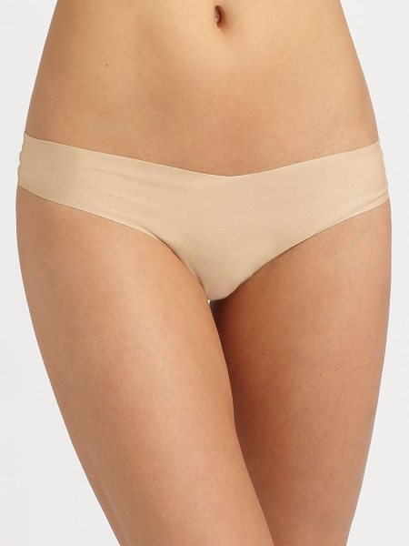 Commando stretch thong in true nude