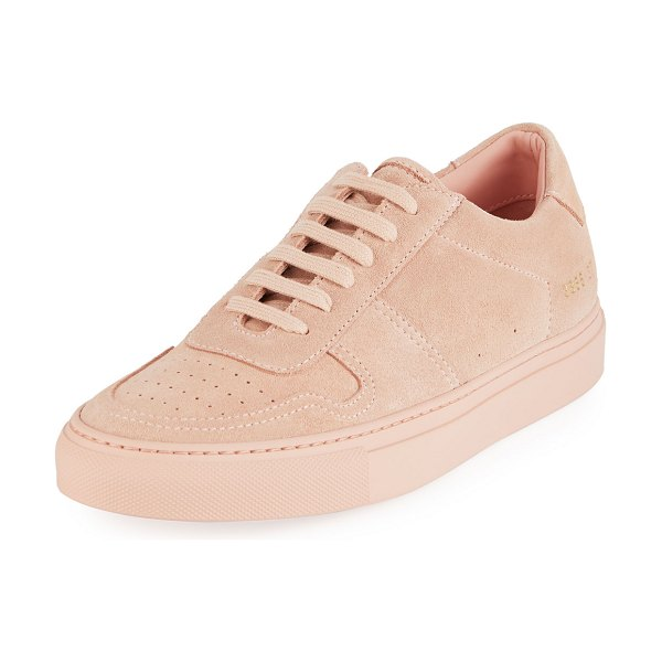 e966b634335f9d Common Projects Ball Low-Top Suede Sneakers | Nudevotion
