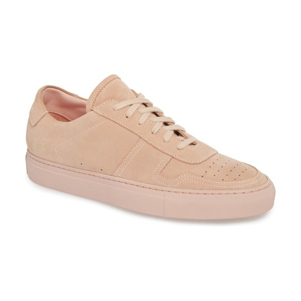 Common Projects bball low top sneaker in blush - A streamlined, classic sneaker that doesn't shout, this...