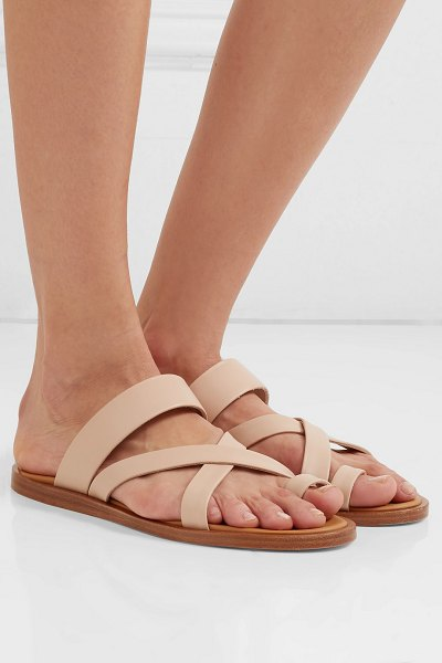 Common Projects leather sandals in neutral