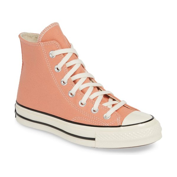 Converse chuck taylor all star 70 high top sneaker in coral