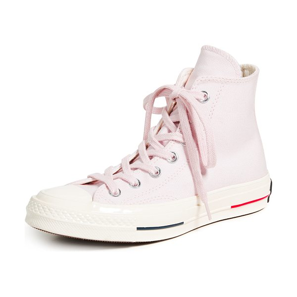 Converse chuck taylor all star 70 high top sneakers in barely rose - Fabric: Canvas All star patch High tops Flat profile...