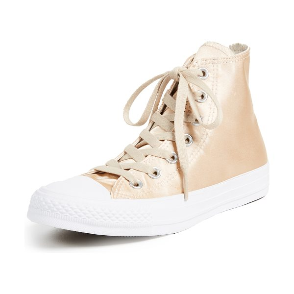 CONVERSE chuck taylor all star high satin sneakers - Classic Chuck Taylor high-top sneakers, updated in...