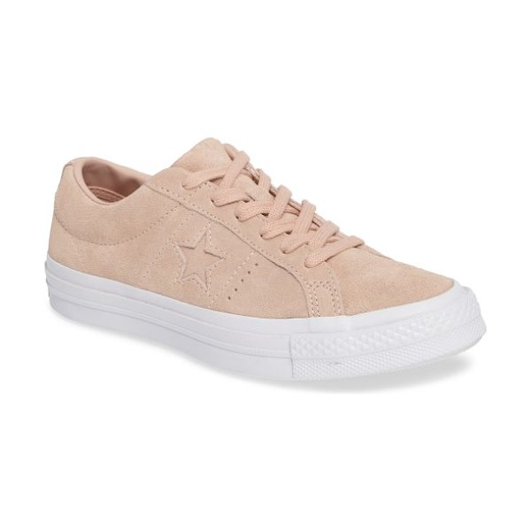 Converse chuck taylor all star one star low-top sneaker in pink - Simple and sporty, the Converse One Star sneaker...