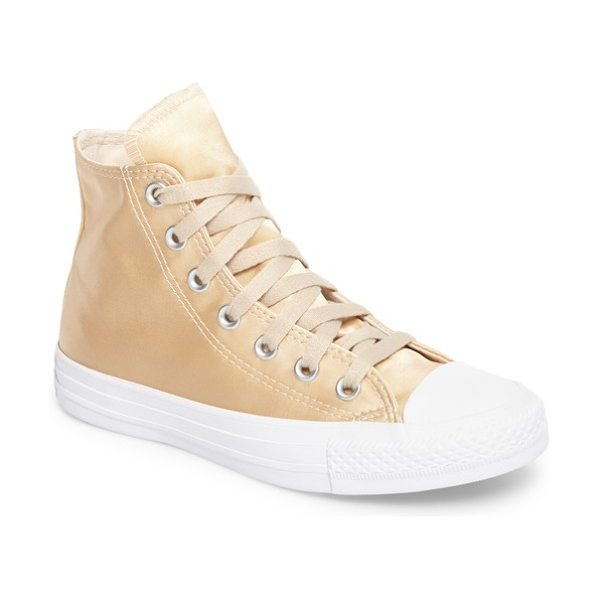 Converse chuck taylor all star seasonal hi sneaker in parchment/ parchment