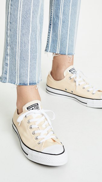 Converse chuck taylor all star sneakers in pale vanilla