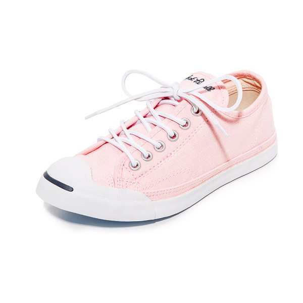Converse jack purcell lp ox sneakers in pink/white/navy - Classic Converse Jack Purcell sneakers, updated in...