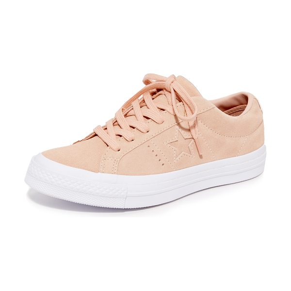 CONVERSE one star ox sneakers - These classic Converse sneakers are rendered in soft...