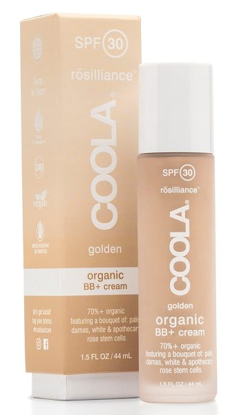 COOLA Suncare rosilliance(tm) mineral bb+ cream spf 30 in golden - What it is: A lightweight mineral BB cream that leaves...
