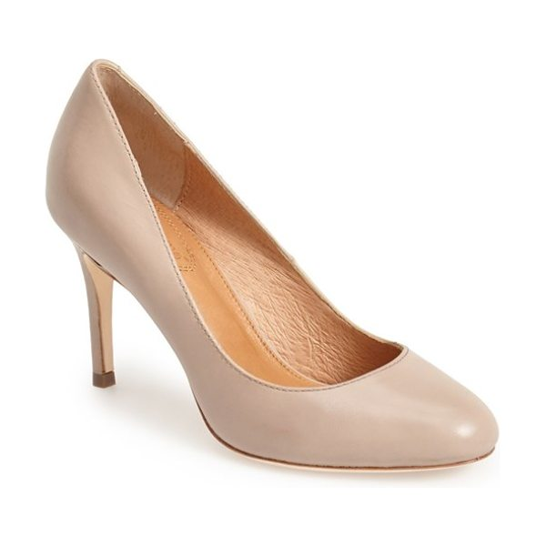 CORSO COMO webster leather pump - A supple leather lining and gel-cushioned footbed lend...
