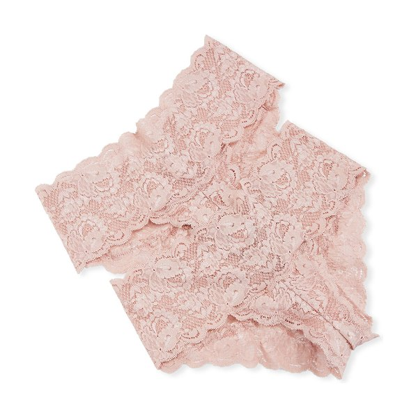 Cosabella 2-Pack Never Say Never Hottie Lace Hotpants in pink pattern