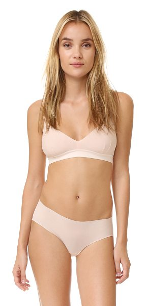 Cosabella aire soft bra in nude rose