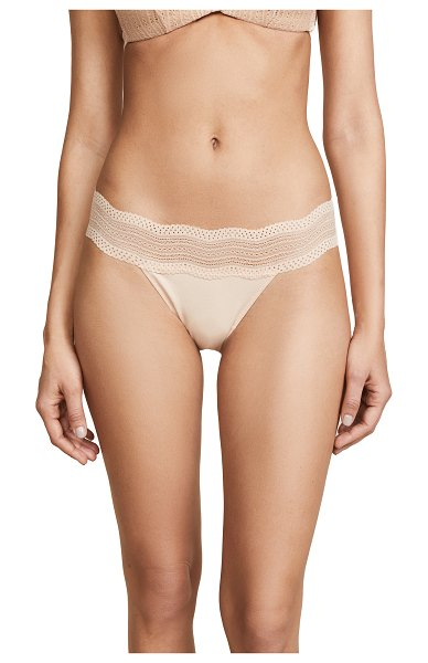 Cosabella dolce thong in blush