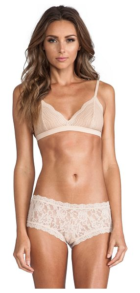 Cosabella Dolce soft bra in cream,neutrals - 73% polyamide 15% cotton 12% elastane. Adjustable...