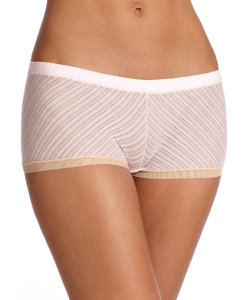 Cosabella Erin fetherston nightingale boyshort in blush