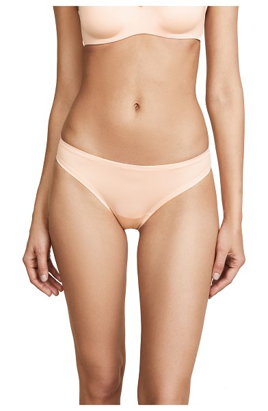 Cosabella evolution low rise thong in nude rose