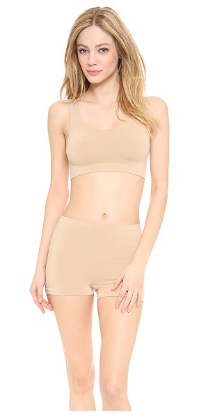 Cosabella Freedom bralette in nude - This seamless Cosabella bralette offers comfortable...