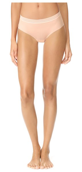 Cosabella laced in aire panties in nude rose