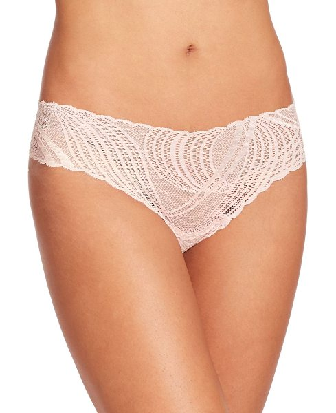 Cosabella Miinoa low-rise thong in pink-lilly