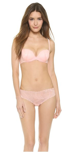 COSABELLA minoa beautie push up bra - A flattering Cosabella bra with scalloped edges and a...