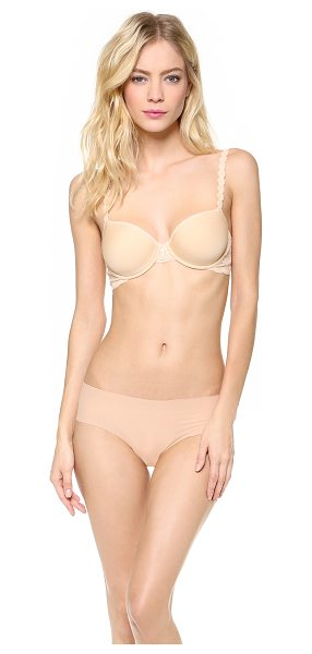 Cosabella never say never comfie tee bra in blush