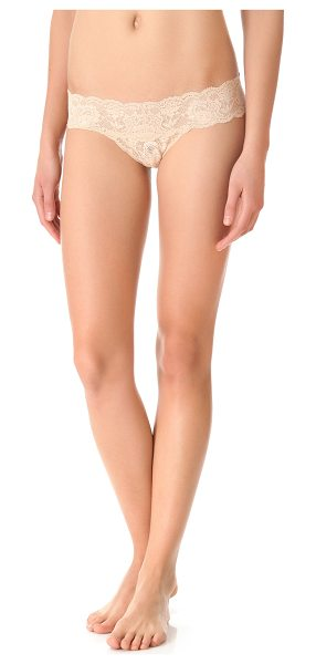 Cosabella never say never cutie low rise thong in blush