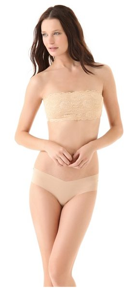 Cosabella never say never flirty bandeau bra in blush