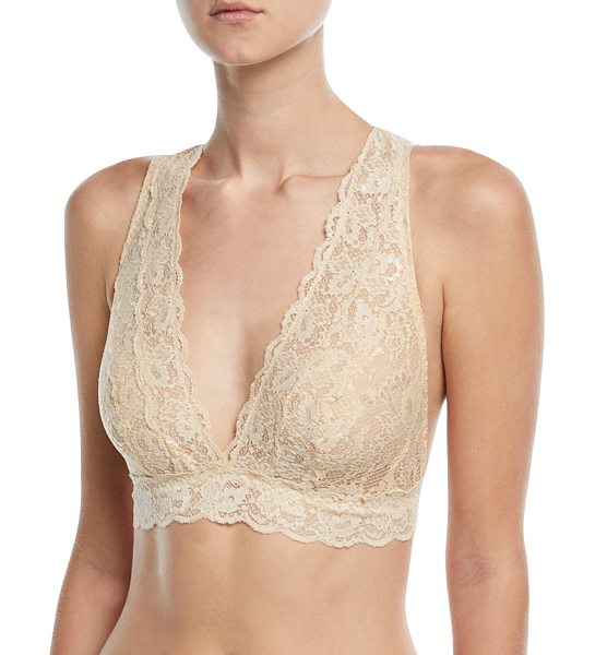 "COSABELLA Never Say Never Girlie Bralette - Cosabella Never Say Never ""Girlie"" soft bra in signature..."