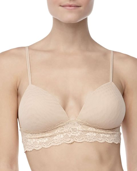 Cosabella Never Say Never Softie Padded Bra in blush