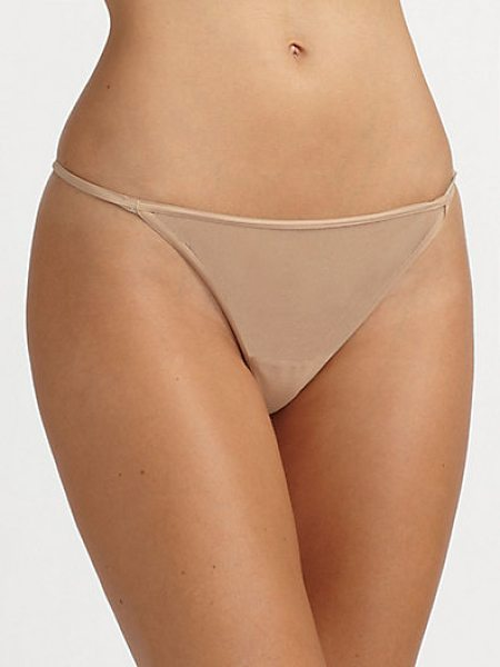 Cosabella new italian thong in blush - An updated style that's lighter, stretchier and softer...