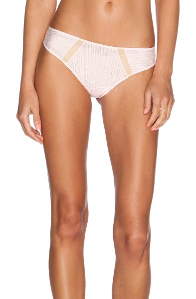 Cosabella Nightingale lowrise thong in pink - 88% modal 8% elastane 2% polyamide 2% cotton. Hand wash...