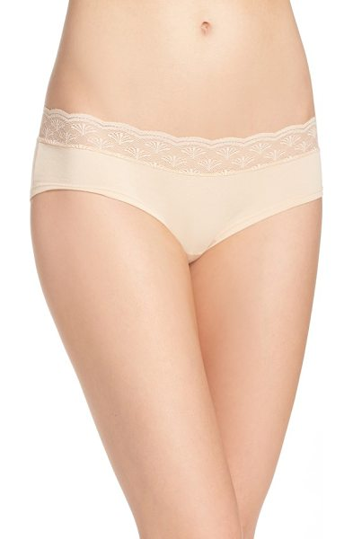 COSABELLA sweet treat panties in blush - Cheeky panties are extra comfy for everyday in soft and...
