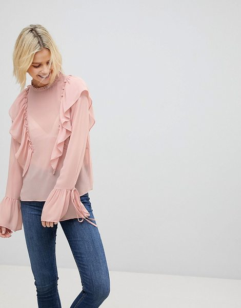COTTON CANDY LA Frill Detail Top - Top by Cotton Candy, Some serious daytime inspiration...