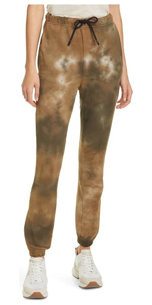 COTTON CITIZEN milan sweatpants in brown
