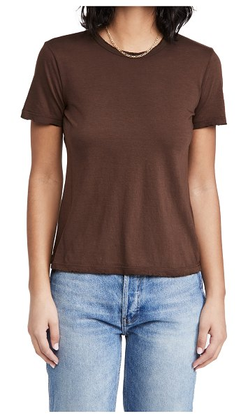 COTTON CITIZEN standard tee in coffee mix