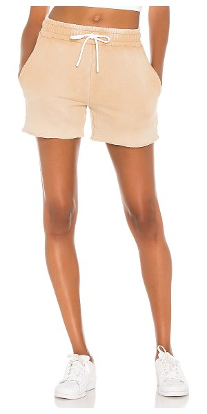 COTTON CITIZEN x revolve brooklyn shorts xo in vintage sand dune