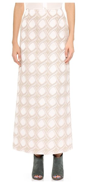 CREATURES OF THE WIND Senna skirt - A cool, lamé accented braid pattern brings ethereal...