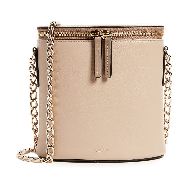 CUERO & MOR perla chain bag - Leather: Calfskin Gift box included Zip at top Patch...