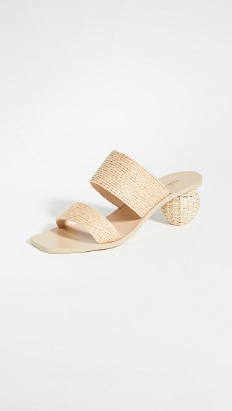 Cult Gaia jila sandals in natural